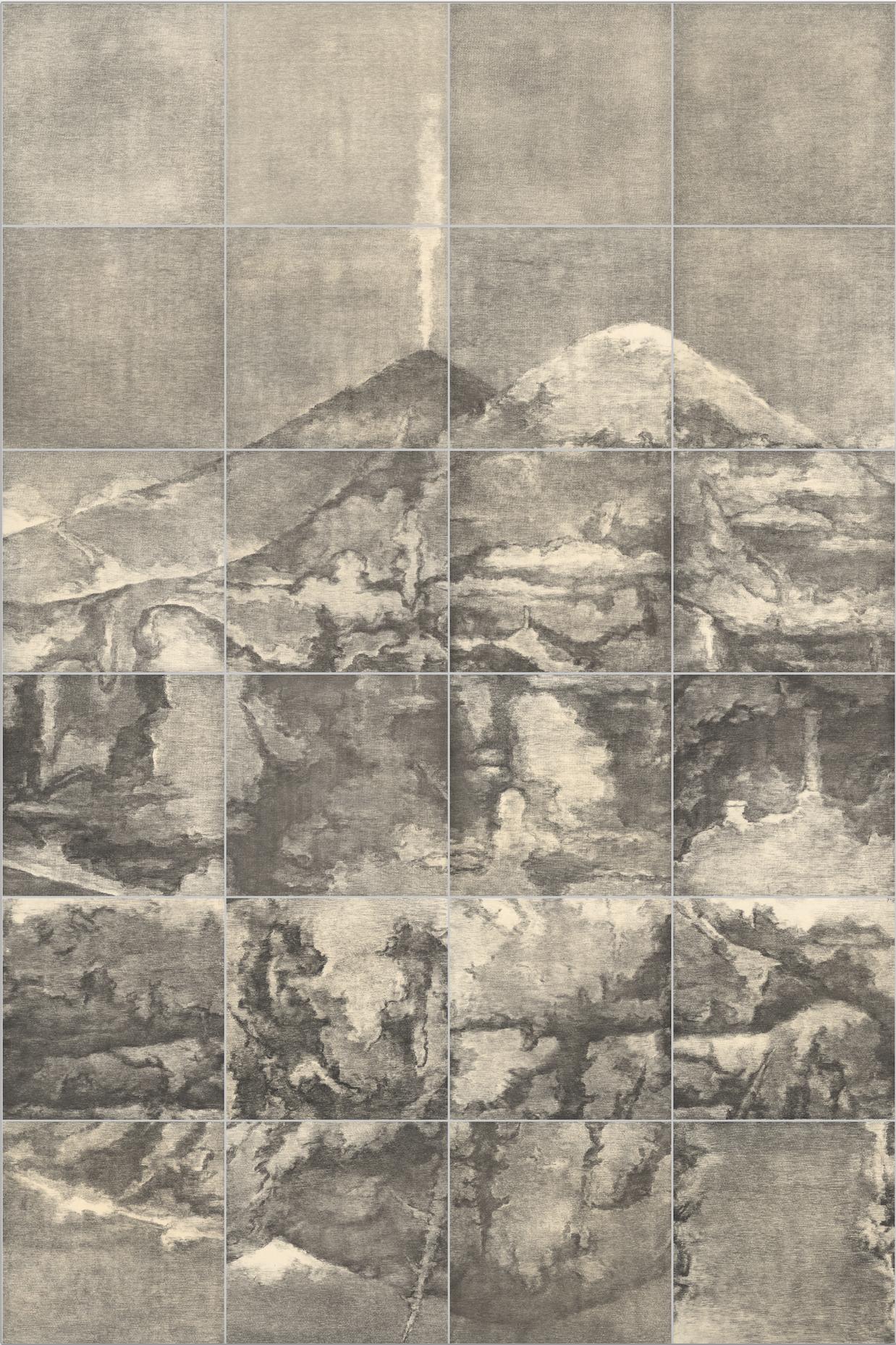 荒原3号 The Waste Land NO.3 苏新平 Su Xinping 铜版画 Copperplate Etching 300×200cm.png