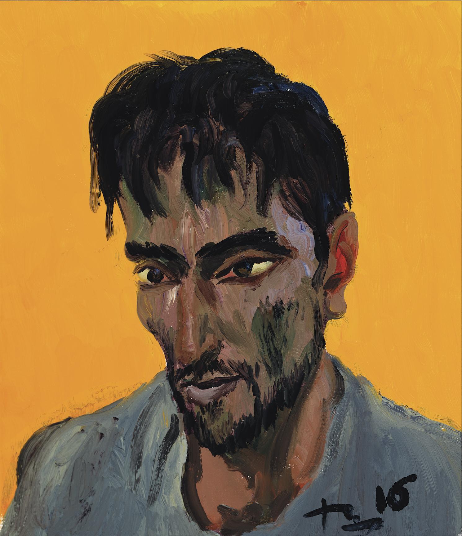 难民8Refugees 8 刘小东 Liu Xiaodong 布面油画 Oil on Canvas 38×33cm.png