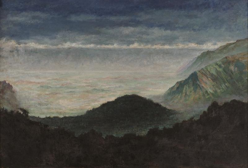 李瑞年 含鄱口 1981年 油画 105×156cm.jpg