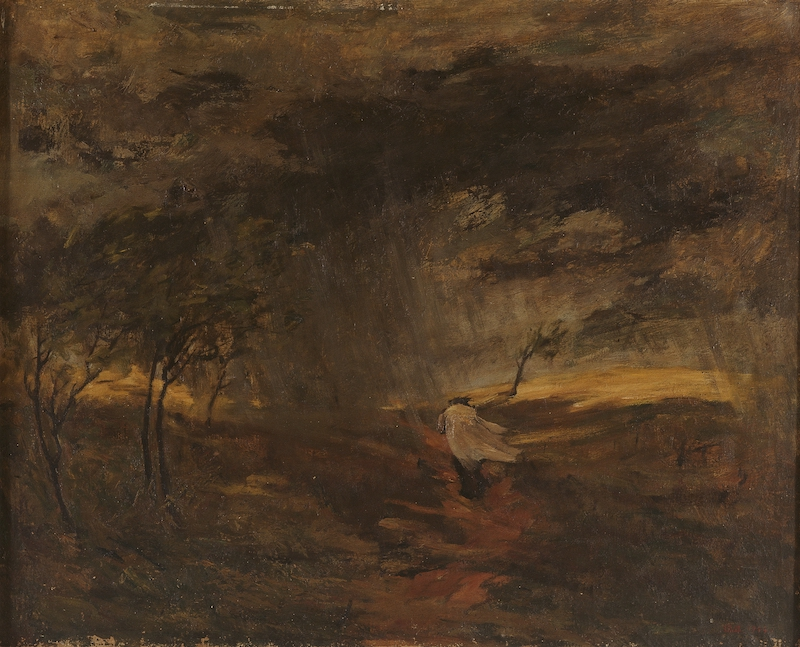李瑞年 暴风雨 1944年 油画 65×80cm 中国美术馆藏.jpg