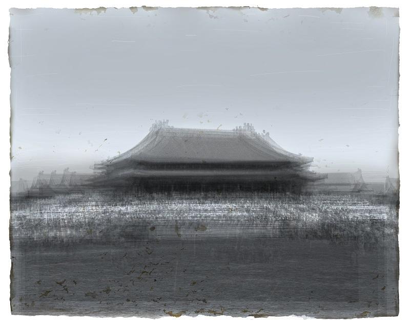 24景观----太和殿 60x75cm综合版画2013年 周吉荣 1.jpg